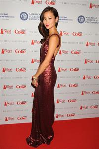 Jamie Chung The Heart Truth 2013 Fashion Show, Feb 6, 2013