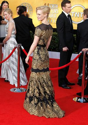 January Jones 17th annual Screen Actors Guild Awards on January 1, 2011