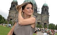 Jeanette Biedermann Jedermann Photocall & Pressekonferenz in Berlin on August 7, 2013