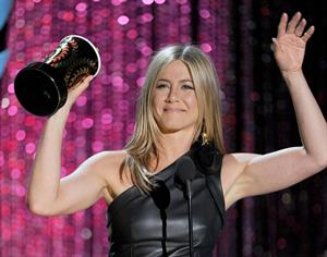 Jennifer Aniston at 2012 MTV Movie Awards, show, Los Angeles, June 3, 2012