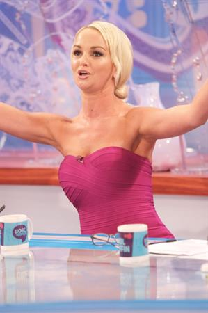 Jennifer Ellison loose women appearance at ITV studios 90112