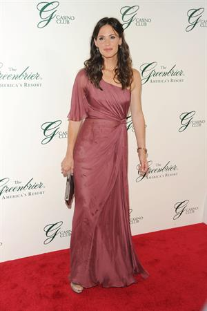 Jennifer Garner grand opening of the Casino Club at the Greenbrier on July 2, 2010