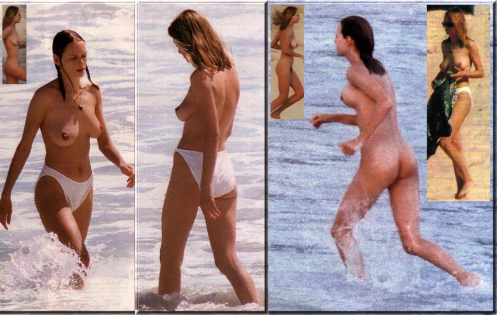 Corrs naked paparazzi