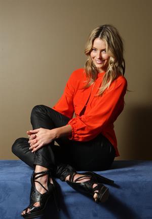 Jennifer Hawkins at Aaron Francis Photoshoot