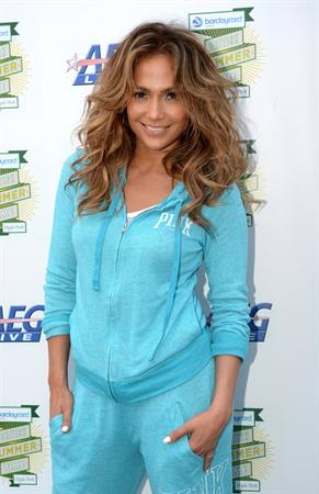 Jennifer Lopez attends Barclaycard British Summer Time Day at Hyde Park in London on July 14, 2013