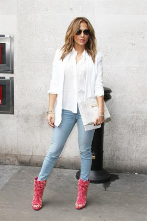 Jennifer Lopez - Pictured at Radio 1 in London on May 30, 2013