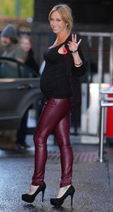 Jenny Frost ITV studios in London - November 1, 2012