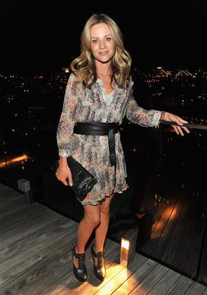 Jessalyn Gilsig at NY Upfronts celebration with Entertainment Weekly 16/05/10