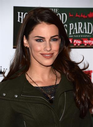 Jessica Lowndes 2012 Hollywood Christmas Parade Benefiting Marine Toys For Tots on November 25, 2012