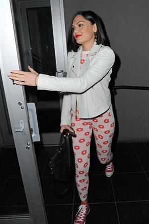 Jessie J in New York City on February 28, 2013