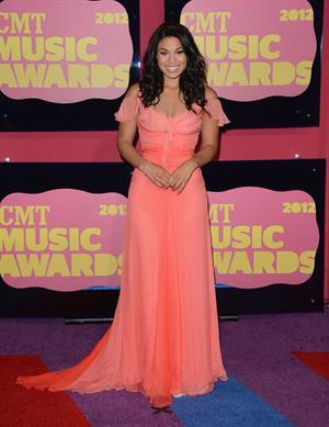 Jordin Sparks - 2012 CMT Music Awards in Nashville (June 6, 2012)