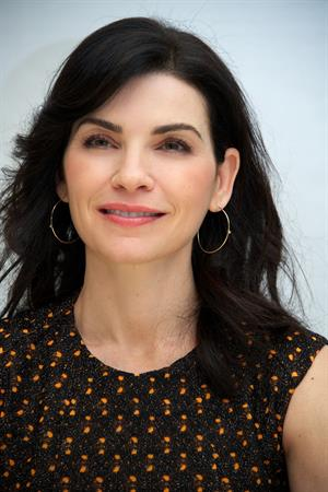 Julianna Margulies  The Good Wife  Press Conference (Sep 24, 2012)
