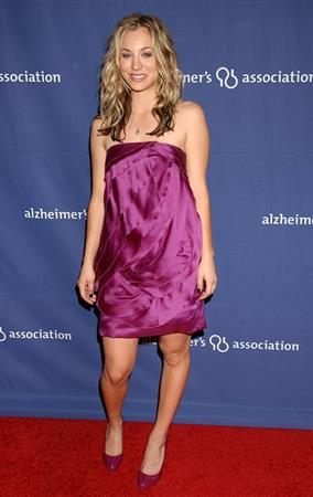 Kaley Cuoco attending the Alzheimers Association's 17th annual a Night at Sardis Beverly Hills