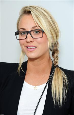 Kaley Cuoco - Corey Helford Gallery Presents Giles Walker's 'The Last Supper' - September 7, 2012