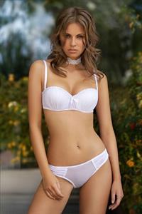 Ewelina Hylin in lingerie