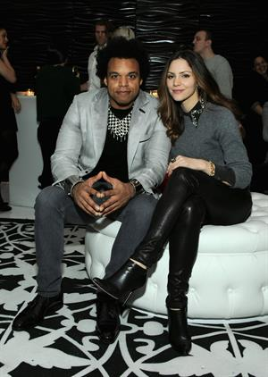 Katharine McPhee Beck's Sapphire Pops Up To Celebrate Super Bowl in NY 1/29/13