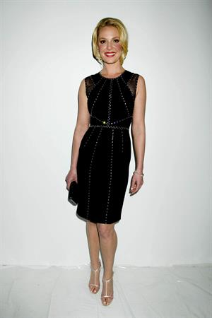 Katherine Heigl Jenny Packham During Fall 2013 Mercedes-Benz Fashion Week February 12, 2013