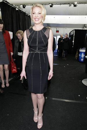 Katherine Heigl Jenny Packham During Fall 2013 Mercedes-Benz Fashion Week February 12, 2013