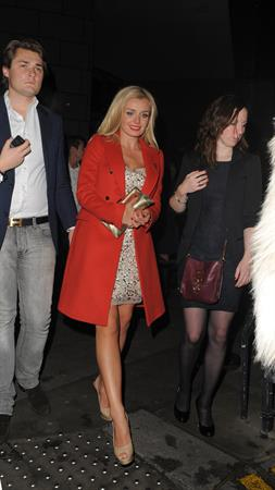 Katherine Jenkins Bodo's Schloss in Kensington - November 10, 2012