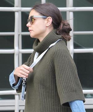 Katie Holmes in New York 10/11/13