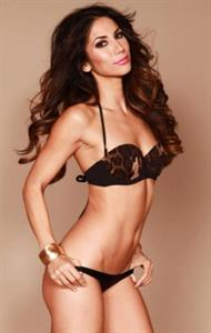 Leilani Dowding in lingerie