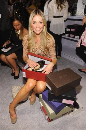 Katrina Bowden QVC Presents FFANY Shoes on Sale in New York - October 22, 2012