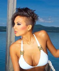 Nikoleta Lozanova in a bikini