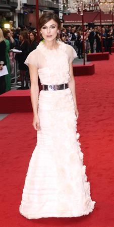 Keira Knightley attending the 'Anna Karenina' UK Premiere - September 4, 2012