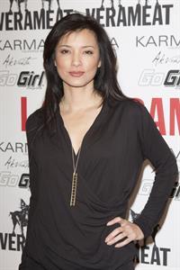 Kelly Hu Verameat Store Opening (Feb 12, 2013)