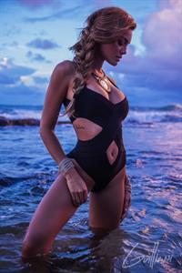 Zuleyka Rivera in a bikini