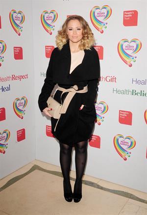 Kimberley Walsh The Health Lottery Fundraising Event -- London, Mar. 28, 2013