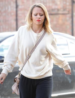 Kimberley Walsh Rehearsal Studio in London - Feb 4, 2013