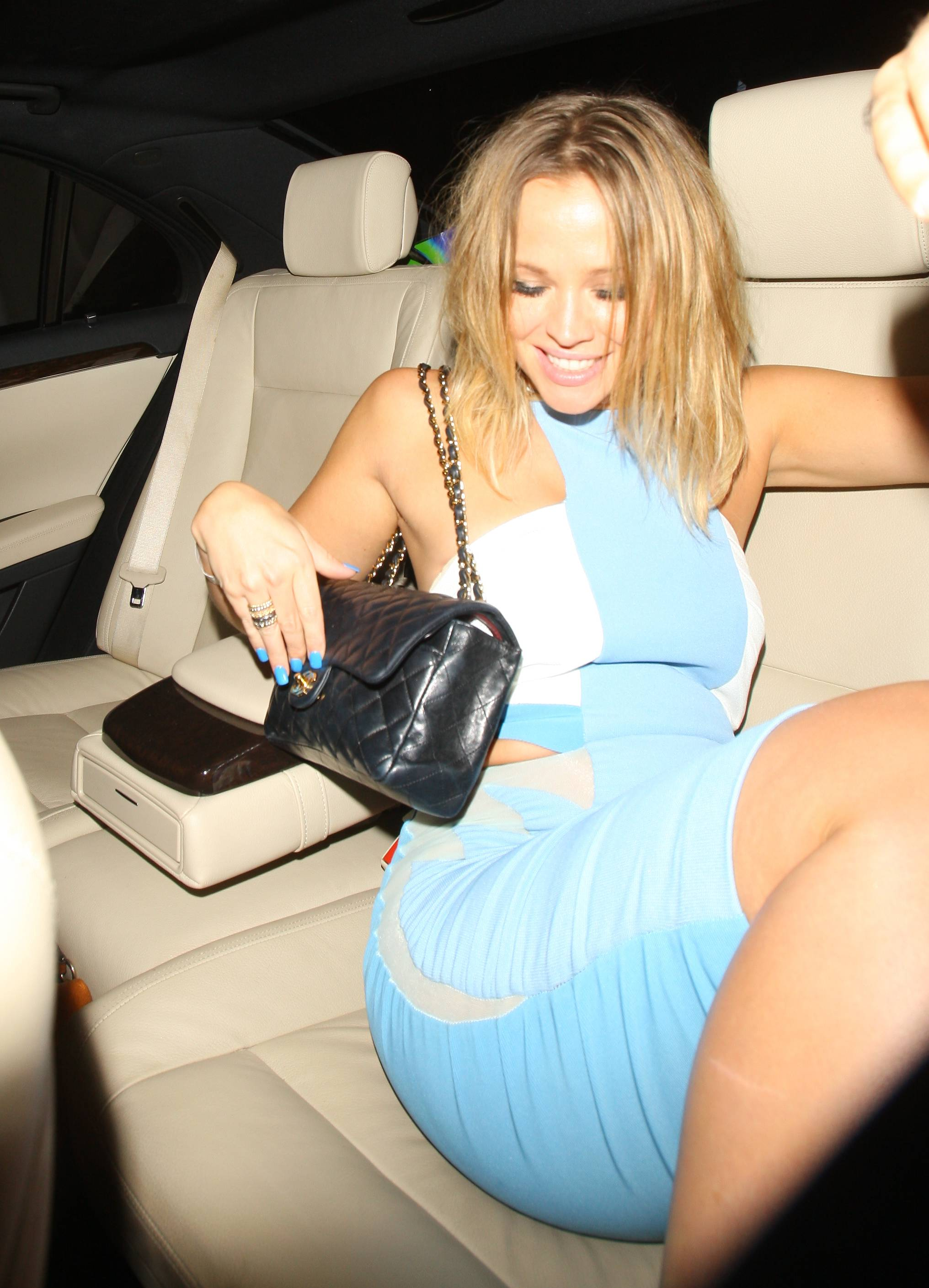 Kimberley Walsh - Leaving the Rose Club in London - August 16, 2012
