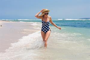 Kirsten Dunst - Bikini Photocall On The Beach In Punta Mita, Mexico June 3, 2012