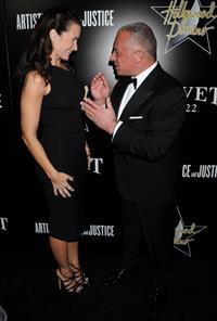 Kristin Davis Domino & Bovet 1822 Gala in Hollywood, Feb 21, 2013