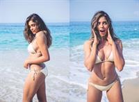 Camila Avella in a bikini
