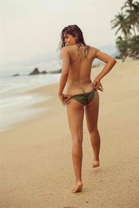 Camila Avella in a bikini - ass