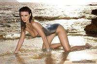 Alice Goodwin in a bikini