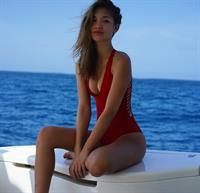 Jocelyn Chew in a bikini