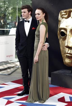 Laura Haddock BAFTA Awards, May 27, 2012