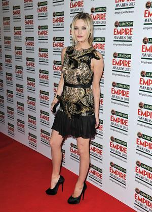 Laura Whitmore Jameson Empire Film Awards -- London, Mar. 24, 2013