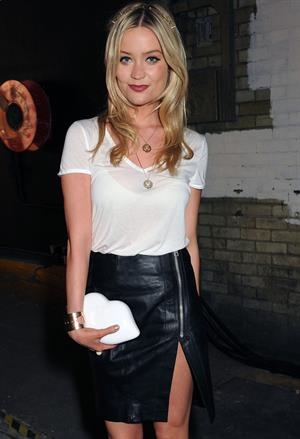 Laura Whitmore Lulu Guinness: Paint Project Party - London, July 11, 2013