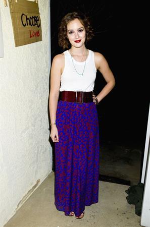 Leighton Meester Visits Billie Lee Live (November 13, 2012)