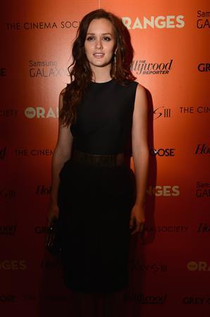 Leighton Meester - Screening of 'The Oranges' in N.Y. - September 14, 2012