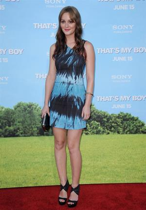 Leighton Meester - That's My Boy premiere in Los Angeles on June 4, 2012