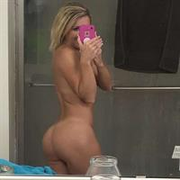 Courtney Ann taking a selfie and - ass