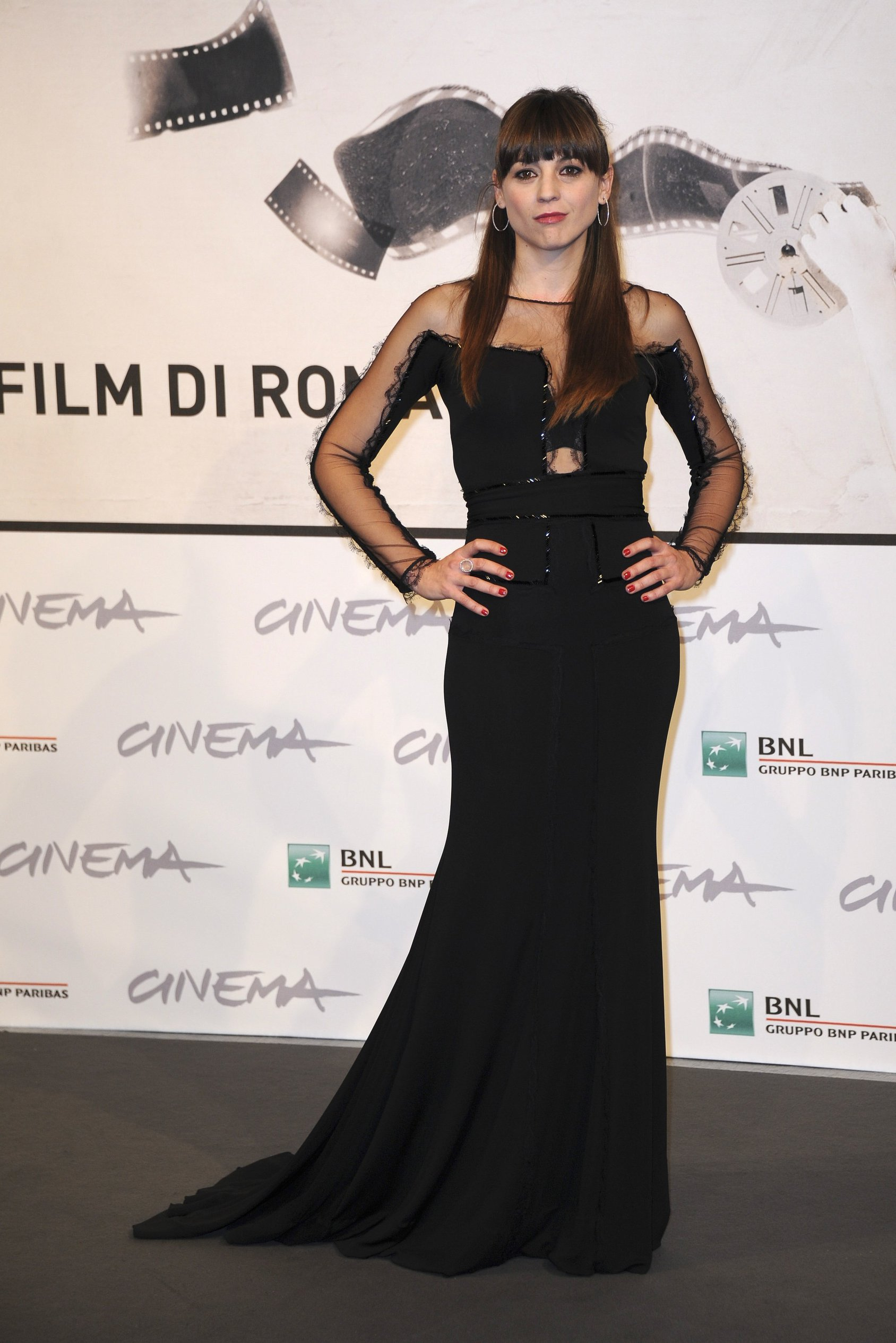 Leonor Watling Una Pistola En Cada Modo photocall at 7th Rome Film Festival on November 17, 2012