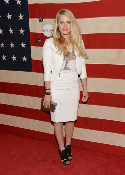 Leven Rambin Nylon Magazine Celebrates America The Issue - Los Angeles - November 1, 2013