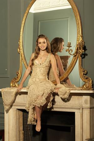 Lily Collins - Nicky Johnston Shoot 2010