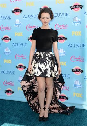 Lily Collins 2013 Teen Choice Awards Universal City California August 11, 2013